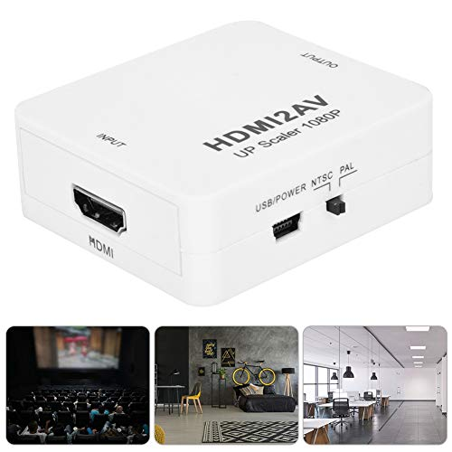 Convertidor Adaptador Audio Video - 1080P HD HDMI