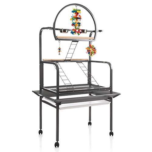 Montana Cages ® | Freisitz New Sunlite - Antik für Papageien