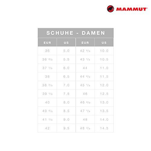 Mammut Damen mtr 201-ii Boa Low Barberry/White Damen Sneaker, Schuh, rot (Barberry/White)