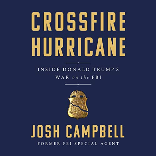 Crossfire Hurricane audiobook cover art