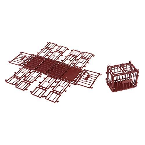 sharprepublic Jaula De Plástico para Ratones Laboratorio Lindo Hamster Bird Loro Animal Pequeño Hutch Hogar Auto Ensamblado Jaulas De Pájaros