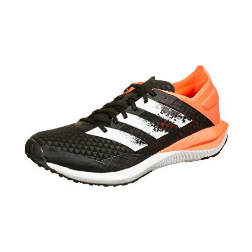 adidas RapidaFaito Summer.RDY J, Zapatillas de Running, Core Black/FTWR White/Signal Coral, 38 EU