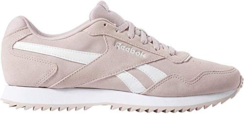 Reebok Royal Glide Ripple, Zapatillas de Trail Running para Mujer, Multicolor (Ashen Lilac/White 000), 36 EU