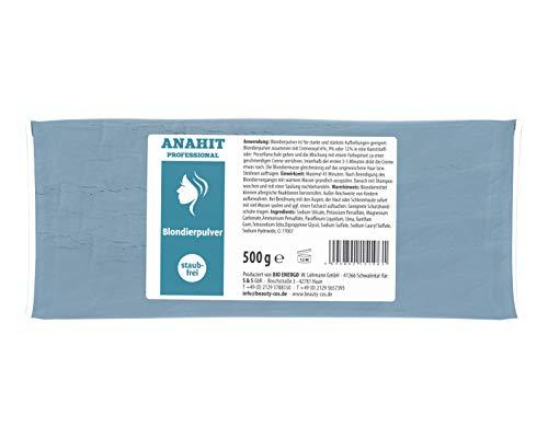 Blondierung Anahit Professional Blondierpulver 500g Staubfrei NEW BRAND 2020 ✅ Made in Germany ✅ Hochwertige Inhaltsstoffe Verwendet ✅ Hochwertiges Blondierungspulver ✅