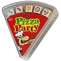 University Games Pizza Party Dice Fast & Frantic Dice Game