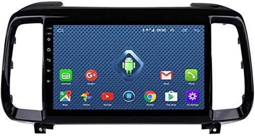 Android 8.1 Coche GPS Navegación Radio TV, Pantalla 9 Pulgadas Pantalla Pantalla táctil Completa, para Hyundai IX35 2018, con Control Volante Link Bluetooth Mirror Link Stereo SD AUX Dab USB en MP5.