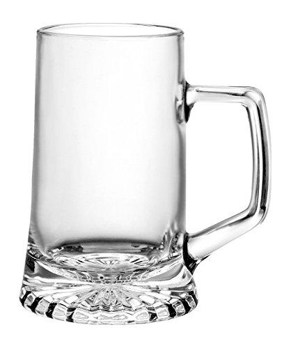 Rocco Bormioli Stern Set Bicchieri con Manico, 2 pz, 2 unità