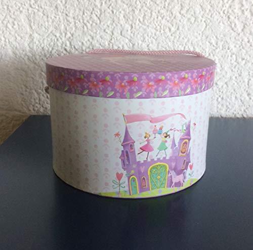 Set petit-déjeuner I Vaisselle pour enfant I Princess Castle I Princess Castle I 3 pièces : 1 tasse, 1 bol à céréales, 1 assiette I Avec jolie boîte cadeau I Gobelet, bol et assiette sont en porcelaine de magnésium, passe au lave-vaisselle et au micro-ondes.