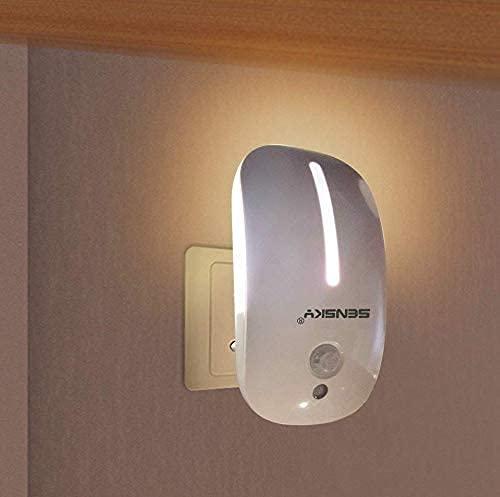 Motion Sensor Night Light Sensky SK126 Plug in Led Light