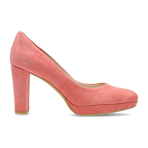 Pumps Kendra, Veloursleder, Koralle, Gr. 36 - (261227965030-36 GRÖßE3WIDE FIT)