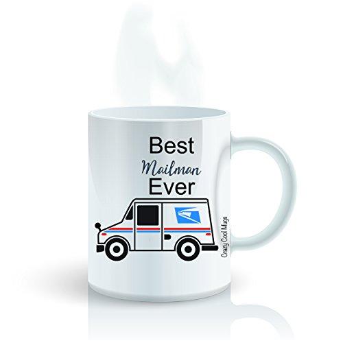 Best Mailman Ever 11 Oz Mailman Coffee Mug