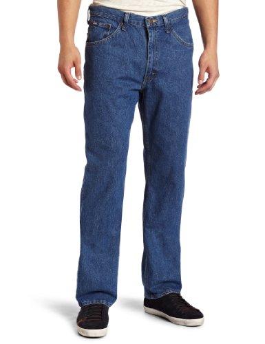 Lee Men's Regular Fit Straight Leg Jean, Pepperstone, 34W x 32L