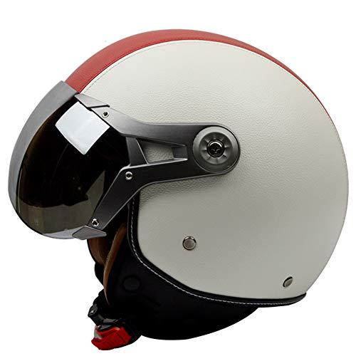 Member Cara Abierta Moto Moto Harley Cruiser Custom Cafe Racer Casco d