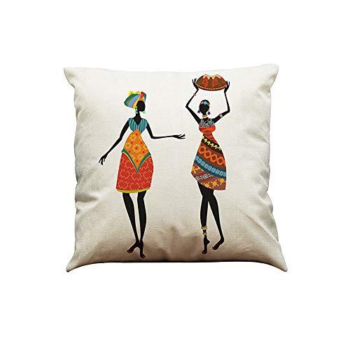 UYSDF Fashion Pillowcase 45 * 45 cm,Indian Style Cotton Pillow Case Sofa Waist Throw Cushion Cover Home Car Decor