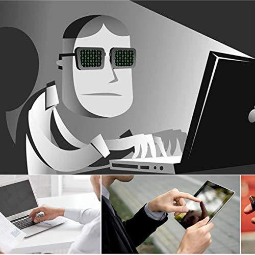 1 Uds Metal Forma Ovalada Mini Webcam Cubierta Obturador imán Deslizador Cubierta de cámara para Web portátil PC Tableta privacidad