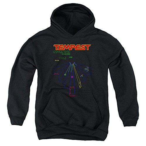 Kids Official Atari Tempest Hoodie for Boys and Girls, 4 Sizes