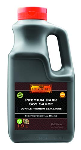 Lee Kum Kee Sojasauce, dunkel, Premium, PET-Flasche, 1er Pack (1 x 1.9 Liter Flasche)