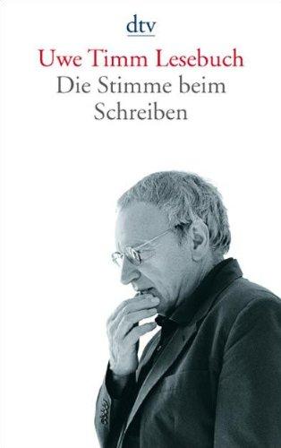 Buchseite und Rezensionen zu 'Uwe Timm Lesebuch: Die Stimme beim Schreiben' von Martin Hielscher