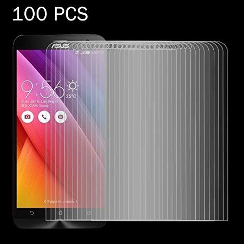 Protector de LYNHJCscreen Accesorios de telefonía móvil 100 PCS for ASUS Zenfone Go / ZC500TG 0.26mm 9H Dureza Superficial 2.5D a Prueba de explosiones de la Pantalla de Cristal Templado de Cine