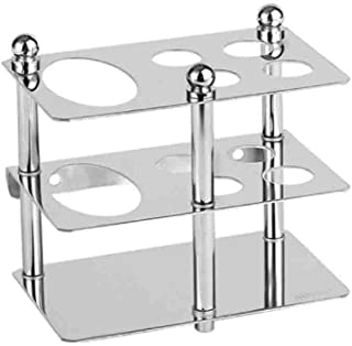 HAI+ Toothbrush Holders Wall Mount, 304 Stainless Steel Bathroom Toothbrush Holder Stand Multi-Functional Sturdy Storage Holder