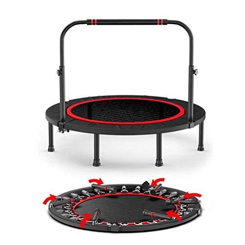 POETRY Kindertrampoline trampoline voor volwassenen met verstelbare leuning indoor sportschool Beste Urban Cardio Workout hometrainer verbranden calorieën indoor trampolines
