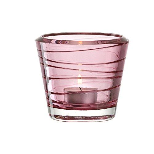 Leonardo Kerzenleuchter Vario rot