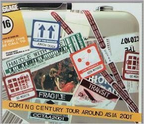 Coming Century tour around Asia 2001
