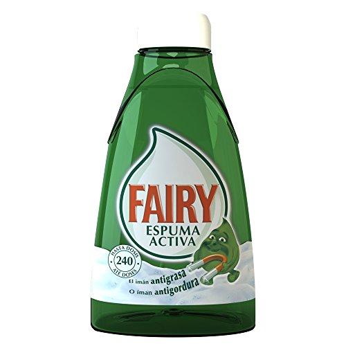 Fairy Espuma Activa Líquido Lavavajillas Recambio para Dosificador - 375ml