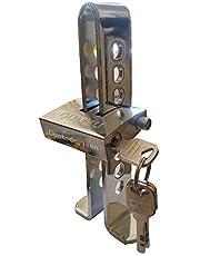 Dispositivo antirrobo para coches, bloqueo del freno y el embrague, herramienta de seguridad de acero