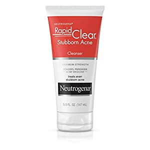 Acne treatment products Neutrogena Rapid Clear Oil-Eliminating Foaming Cleanser