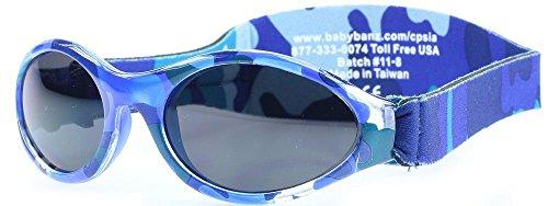 Baby Banz Kidz Banz Adventure Sunglasses 2 - 5 Years - Camo Blue