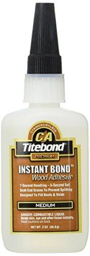 Titebond 621/1 medium Sekunden-Kleber für die Holzbearbeitung, 57 g