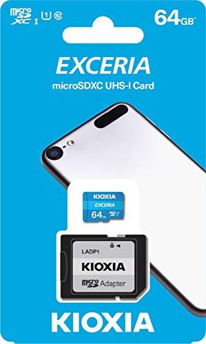 64GB MicroSDXC 100MB/s Class 10 Memory Card For Amazon Kindle Fire 7, Kids Edition, Fire HD 8, HD8, Fire HD 10 Tablets