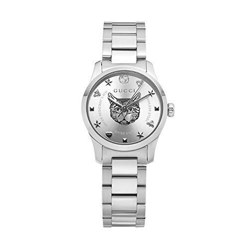 Reloj Gucci YA126595 Plata Acero 316 L Mujer