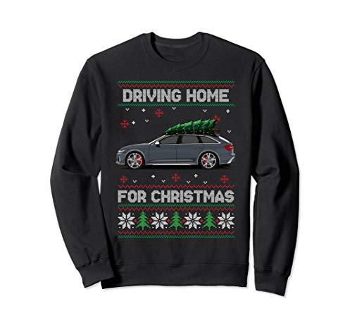 Weihnachten Weihnachtsbaum auf Auto Tuning Xmas Ugly Sweater Sweatshirt