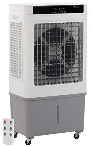 Sichler Haushaltsgeräte Luftkühler Industrie: Gewerbe-Luftkühler und Luftbefeuchter, bis 60 m², 250 W, 55 l (Luftreiniger Luftkühler)