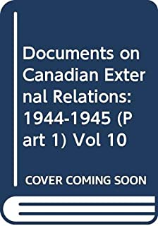 documents on canadian external relations