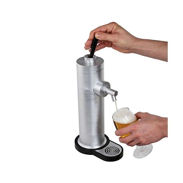 Grifo de cerveza para latas de cerveza con espuma de cerveza (bandeja de