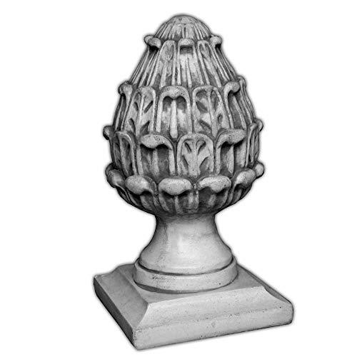 gartendekoparadies.de Großes, schönes Dekorationselement Pinienzapfen Zapfen aus Steinguss, frostfest