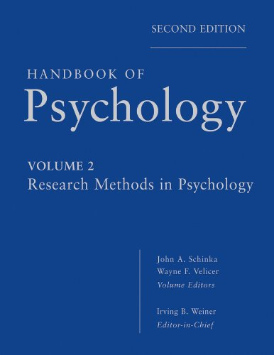 Handbook of Psychology, Research Methods in Psychology
