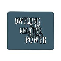 Dwelling On The Negative Mouse Pad [並行輸入品]