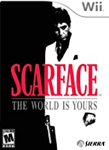 WII THE SCARFACE THE WORLD IS YOURS NTSC
