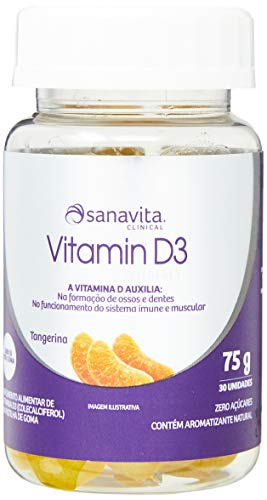 Vitamin D3-75g Tangerina - Sanavita, Sanavita