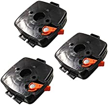 String Trimmer Parts P021012870 OEM Genuine Echo Air Cleaner Case Assembly Carburetor Choke Plate of Each 3 Packs for HC-185 HC-225 PAS-225 PE-225 PPF-225 and E-Book in A Gift