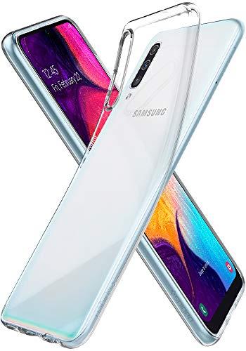 Spigen Liquid Crystal Hülle Kompatibel mit Samsung Galaxy A50, Samsung Galaxy A30S & Samsung Galaxy A50S -Crystal Clear