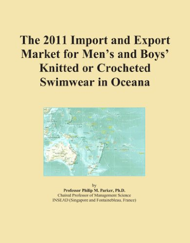 La Importación de 2011y mercado de exportación para los hombres y los niños 'de punto o de ganchillo bañadores en Oceana