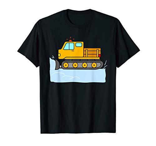Schneeräumer Räumfahrzeug Schneepflug Schnee Fahrzeug T-Shirt