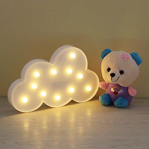 Lámpara del Adorno,GZQES, Lampara Decorativa de mesa,Iluminación Infantil Ambiente Nocturna para Habitación,Luz...