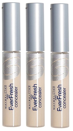 3 x Maybelline New York EverFresh Concealer - Light Beige