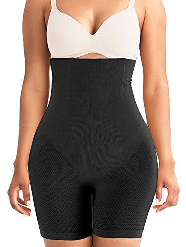 VENDAU Womens Shapewear Shorts Body Shaper Girdle Shapewear for Women Tummy Control (Black, X-Small-Small)